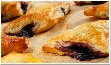 Fresh Turnovers from The Apple Barn & Country Bake Shop