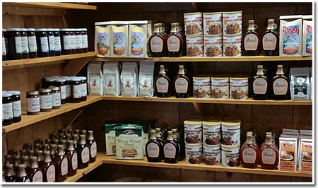 Pancake Mixes & Syrups at The Apple Barn