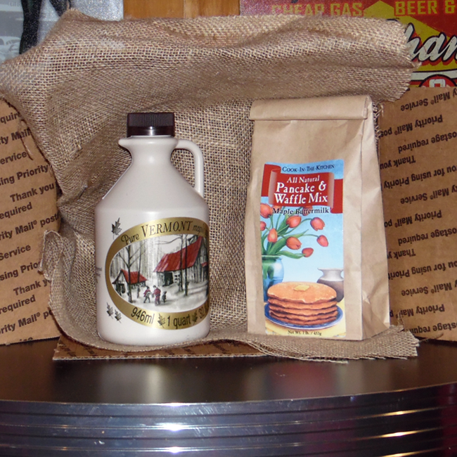 Maple Syrup and Pancake & Waffle Mix Package